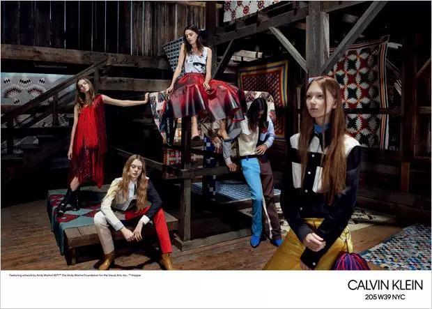 Calvin Klein 2018 春夏大片