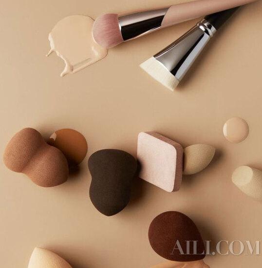 根据肤质选择底妆工具也太宝藏了吧。。。
