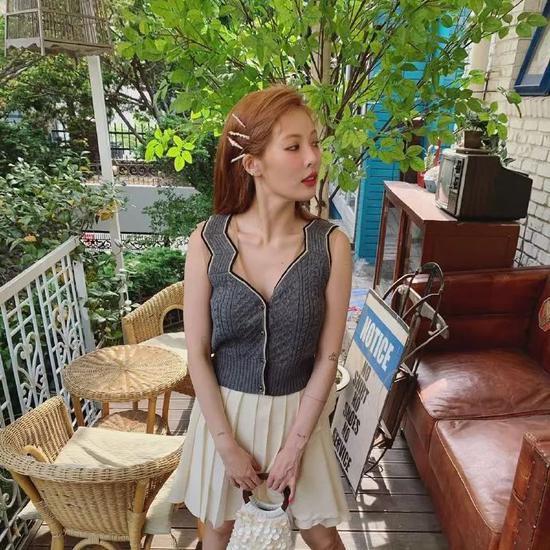 今夏最流行的裙子,没有之一-幽兰花香