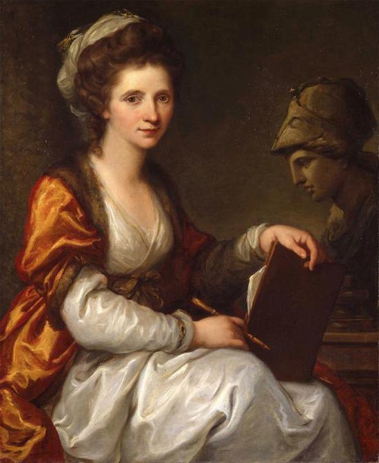 英國回顧考夫曼:從天才少女到新古典主義代表