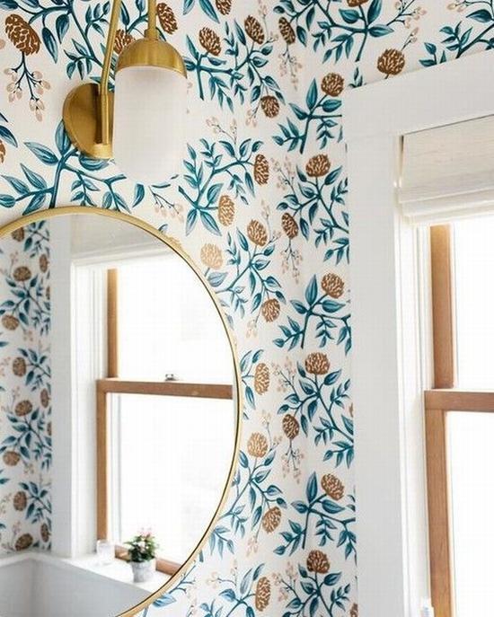 壁纸是最简单的墙面装饰办法 图片源自www.westelm.com