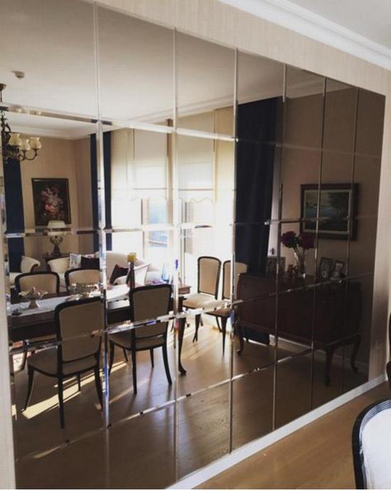 小户型装个镜面墙有益无害 图片源自www.aynapazari. com