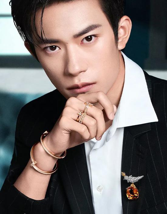 Tiffany 全球品牌代言人易烊千玺