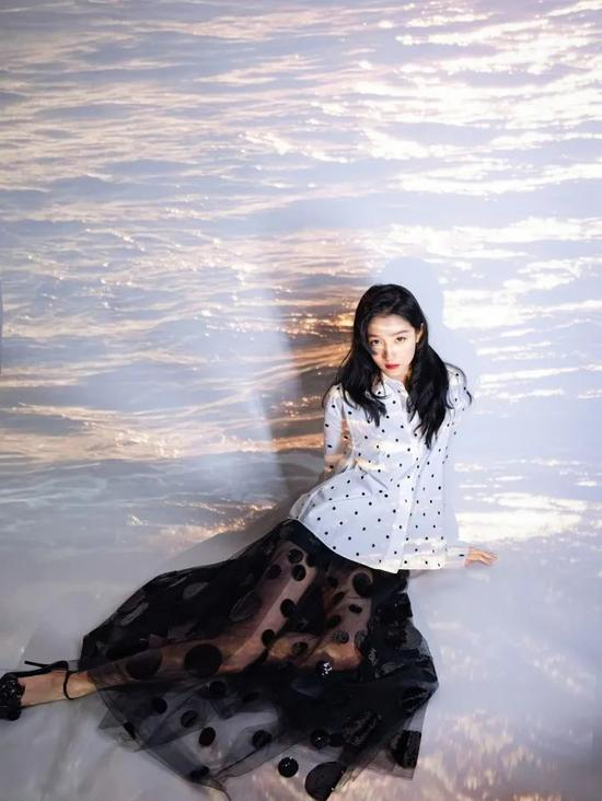 Guan Xiaotong finally found the right style, charming feeling, Yujie wind absolutely插图10