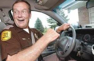 �美国 Iowa 州州警