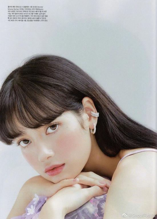 四步画出Lisa宣美同款蜜桃妆容 化妆小白必看