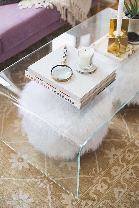 玻璃和金属让家居质感更通透 图片源自domino. com