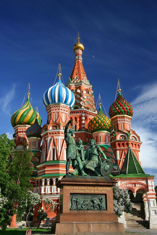 终于抵达莫斯科 图片源自pexels