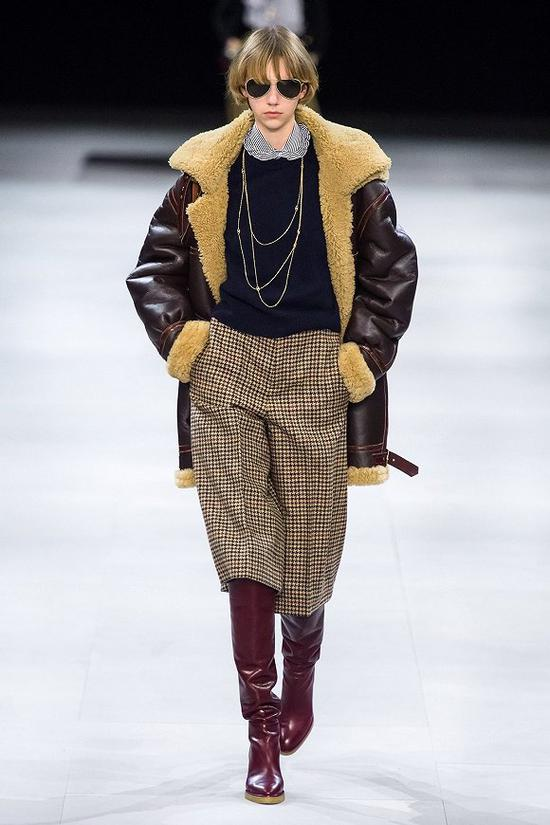 CELINE 2019秋冬系列 圖片來源:Vogue