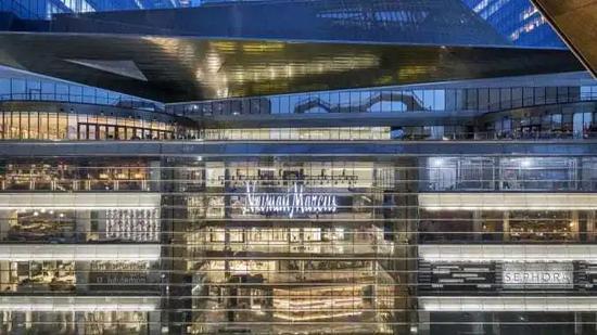 Neiman Marcus 已经清空了 Hudson Yards 店铺