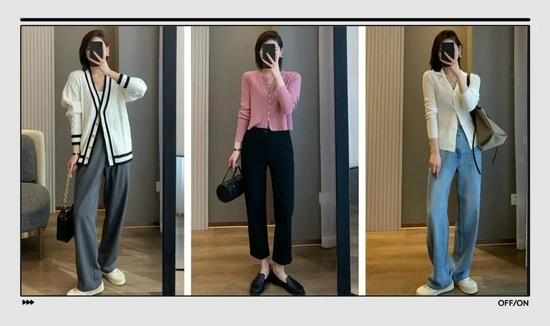 """秋天一定要穿的""""奶奶衫+裤子"""",我选出了最美的13套"""