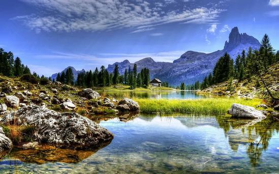 贝加尔湖的多面美景 图片源自pexels