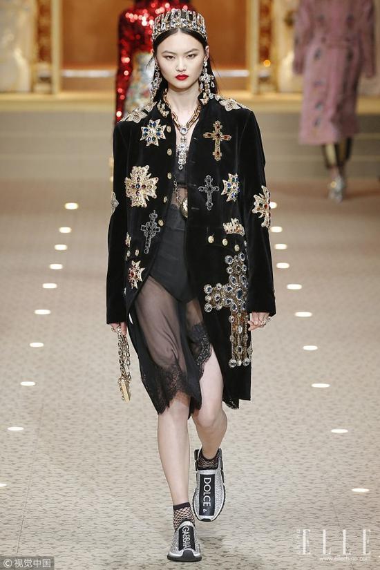 Dolce & Gabbana米兰时装周秀场