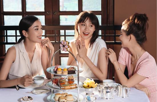 海瑞温斯顿携手大中华区半岛酒店推出Winston Garden经下午茶