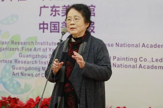 广州美术学院教授鸥洋女儿致辞