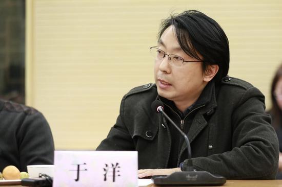 中央美术学院副教授于洋先生发言