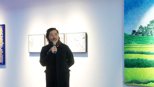 藝術家王海龍