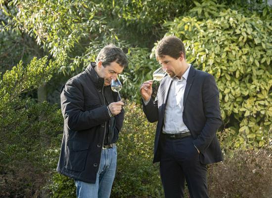 Penfolds奔富首席酿酒师Peter Gago彼得・嘉高和Thiénot亭诺香槟酿酒师Nicolas Uriel尼古拉斯・乌列联名品赏香槟