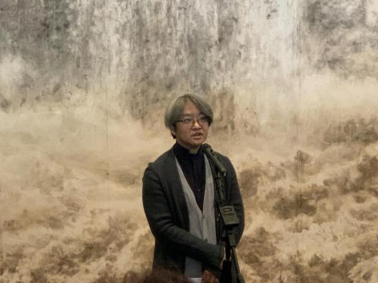 北京畫院院長、北京畫院美術館館長 吳洪亮