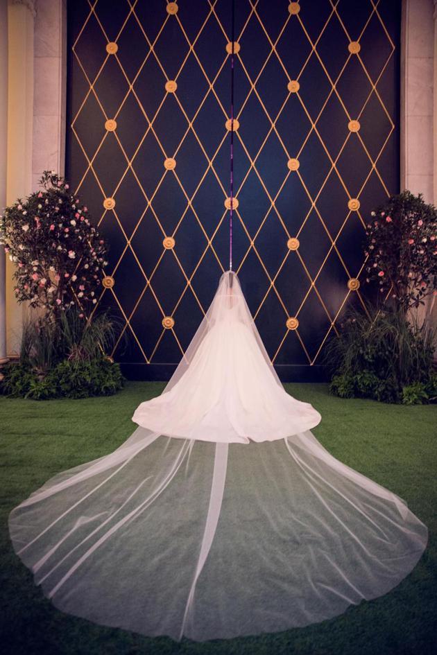 精彩的婚纱