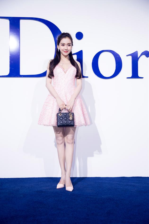 Angelababy与Dior的渊源