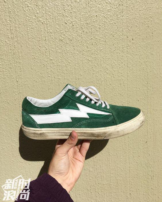 绿色的Revenge X Storm运动鞋