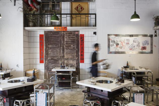 電臺向北京店的裝修風格是八九十年代的復古調調 90年代家家必備的圖片