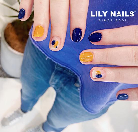 GET LILY NAILS美甲同款