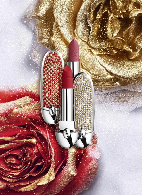 两款全新设计的臻彩宝石唇膏壳