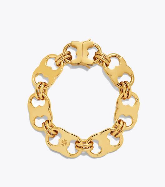 Tory Burch金属链条手链