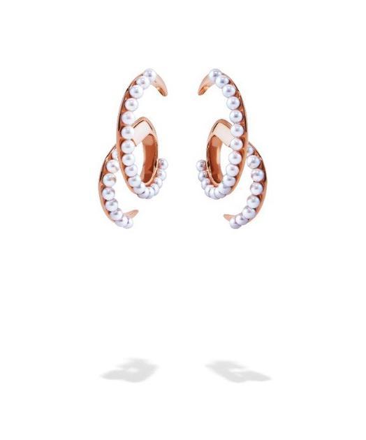 TASAKI Atelier Surge海浪系列耳环