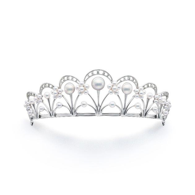 TASAKI Tiara新娘花冠系列珍珠钻石皇冠