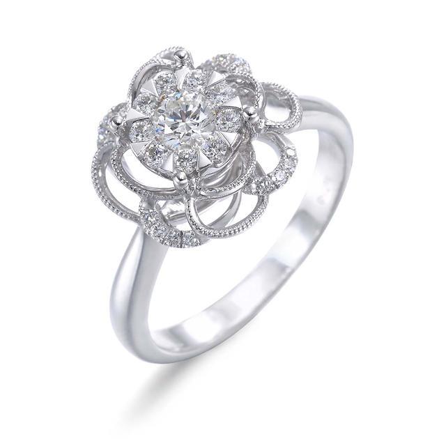 Happy Floret 「福花语」铺天盖地 戒指