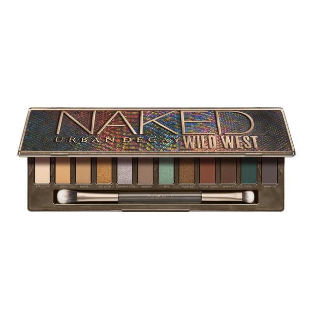 URBAN DECAY NAKED WILDWEST沙漠眼影盘
