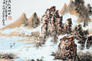 黄廷海:我要把新南派山水奉献给国家