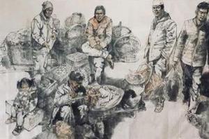 當代畫家姜耀南作品二十四萬元拍賣成交