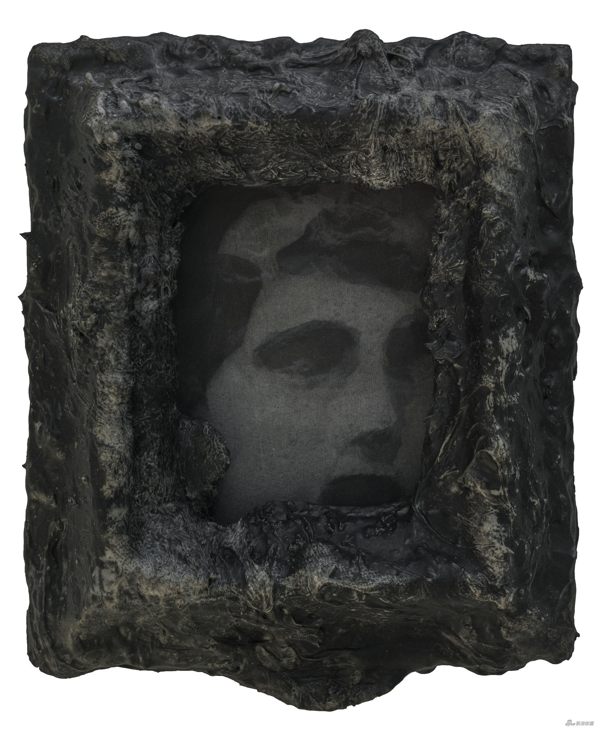 幻影 綜合材料 、絲綢 27 x 24 cm 2017