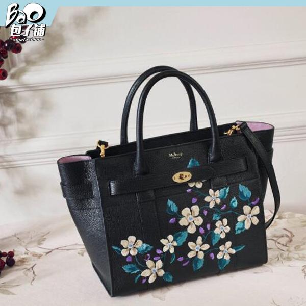 Mulberry包包加入花朵印花