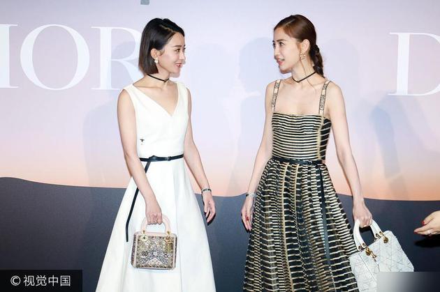 Angelababy和赵丽颖同台