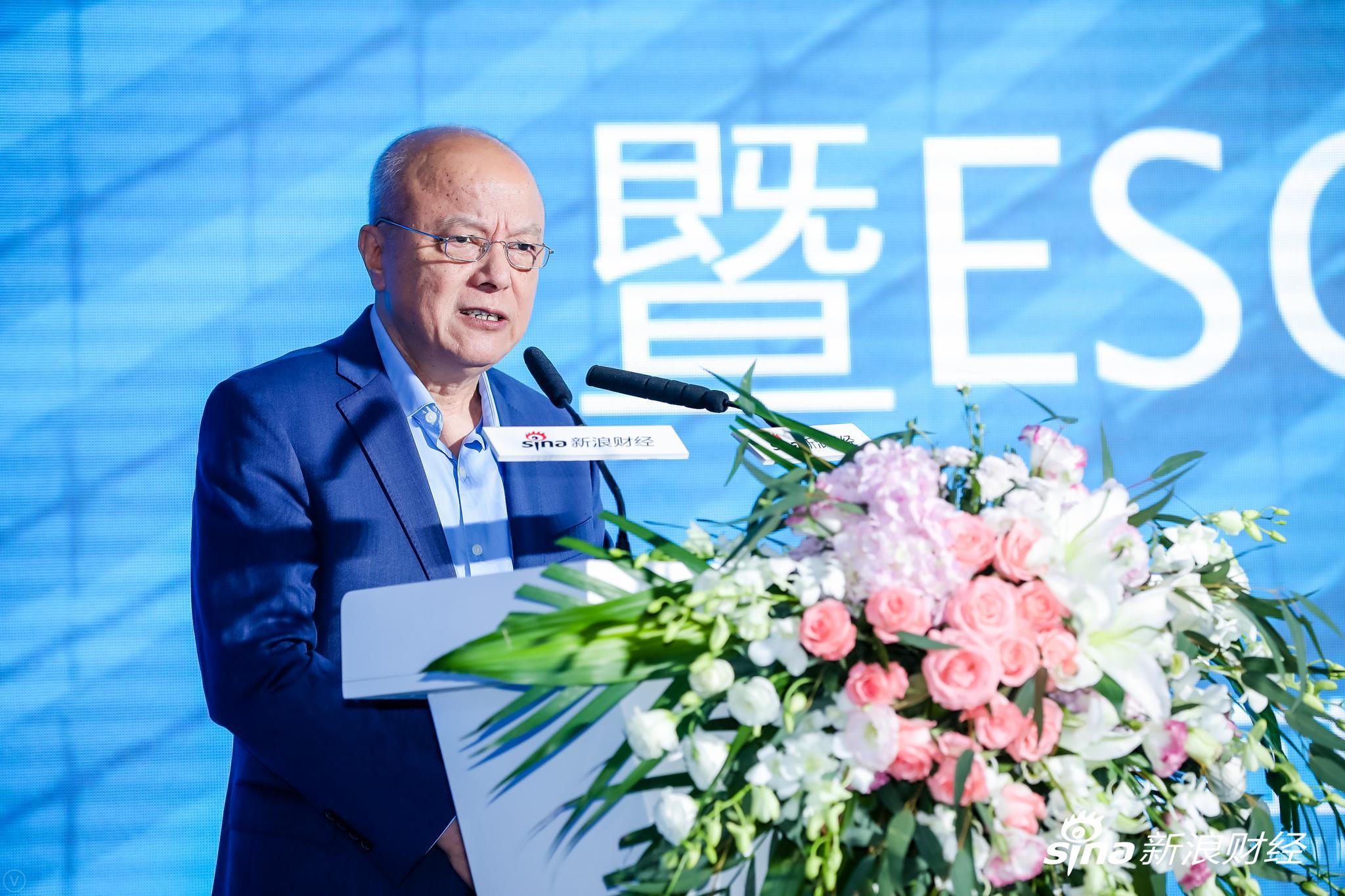 中国发展研究基金会副理事长、中国发展高层论坛(CDF)秘书长卢迈发表致辞。(?#35745;?#26469;源:新浪财经)