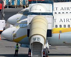 印度捷特航空因债务危机全面停飞