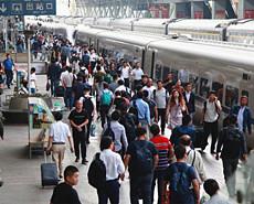铁路国庆黄金周启动 料发客1.42亿人次