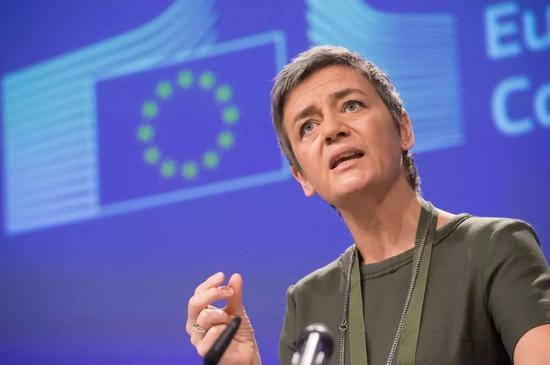 欧洲竞争委员会委员Margrethe Vestager