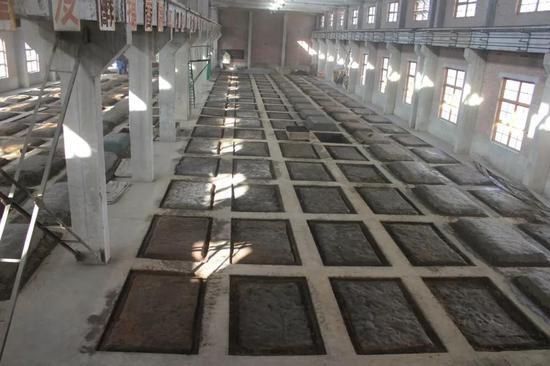 皇台酒业公司酿造一分厂窖池群