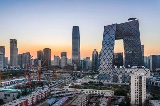 ▲北京CBD(盖帝图像)