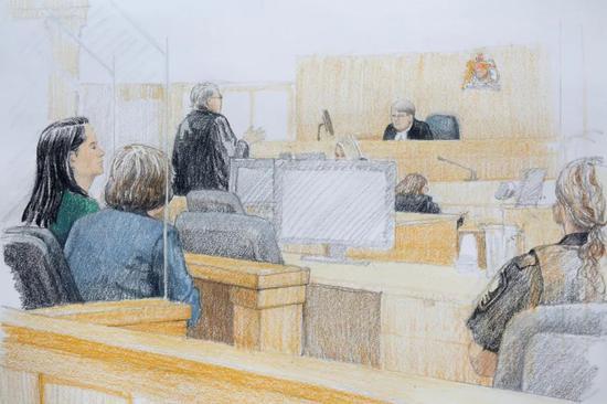 ▲2018年12月7日,添拿大温哥华,针对华为CFO孟晚舟的保释听证会在温哥华法庭举走。(视觉中国)