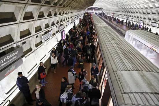 ▲美國華盛頓正在進行下一代地鐵車廂的招標。