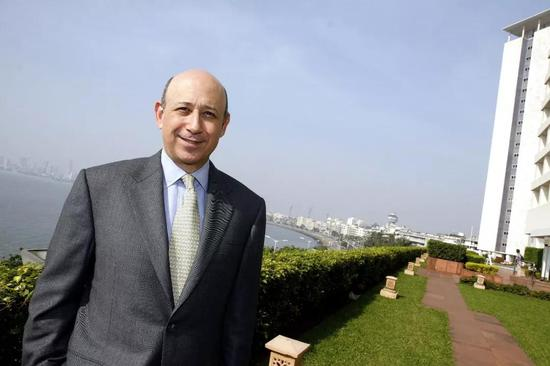 ▲高盛CEO劳尔德·贝兰克梵