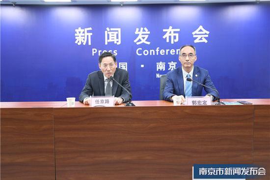 图片来源:南京市新闻发布会直播云