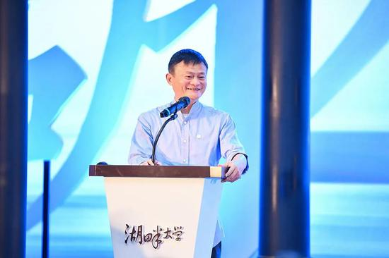 """马云在湖畔5周年课堂:做好企业的""""上三路""""和""""下三路"""""""